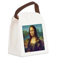 Da Vinci: Mona Lisa Canvas Lunch Bag