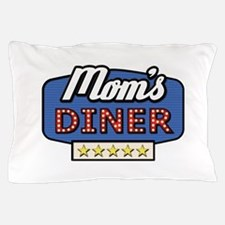 mom's diner Pillow Case