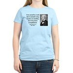 Ralph Waldo Emerson 4 Women's Light T-Shirt