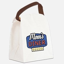 mom's diner Canvas Lunch Bag