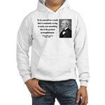 Ralph Waldo Emerson 4 Hooded Sweatshirt