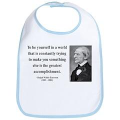Ralph Waldo Emerson 4 Bib