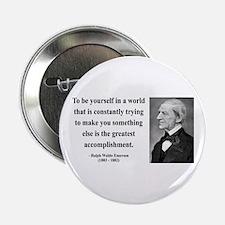 "Ralph Waldo Emerson 4 2.25"" Button"