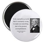 "Ralph Waldo Emerson 4 2.25"" Magnet (100 pack)"