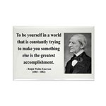 Ralph Waldo Emerson 4 Rectangle Magnet (100 pack)