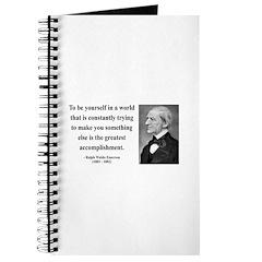 Ralph Waldo Emerson 4 Journal