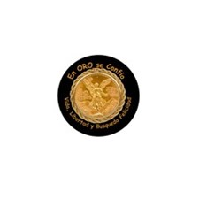 Mex Oro Mini Button