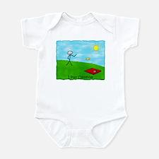 Stick Person I Play Cornhole Infant Bodysuit