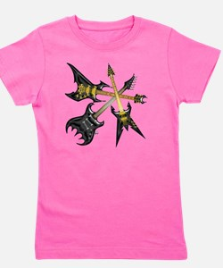 Blacks Dreams Guitars Girl's Tee