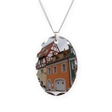 Colorful Houses Necklace