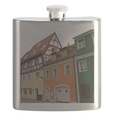 Colorful Houses Flask
