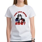 George Bush/Uncle Sam Women's T-Shirt