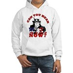 George Bush/Uncle Sam Hooded Sweatshirt
