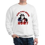 George Bush/Uncle Sam Sweatshirt