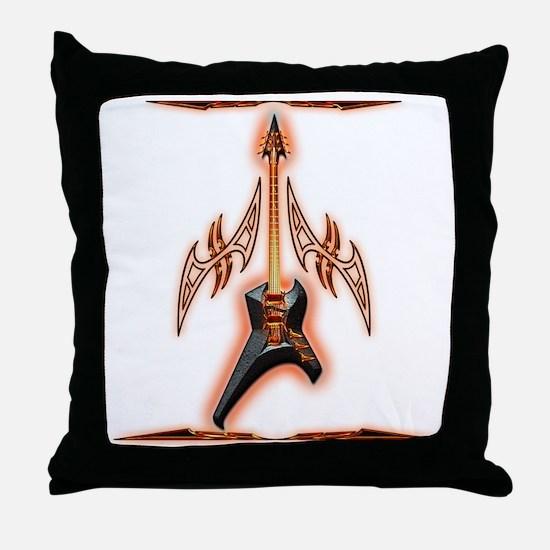 Cute Rock angel Throw Pillow