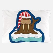 Funny Walrus Pillow Case