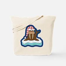 Funny Walrus Tote Bag