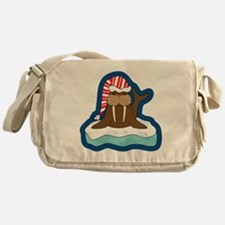 Unique Walrus Messenger Bag
