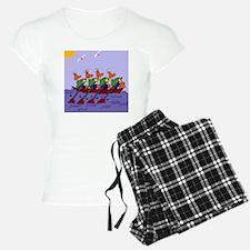 Ducks Rowing Pajamas