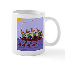 Ducks Rowing Mug