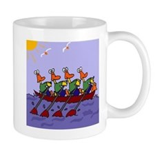 Ducks Rowing Mug