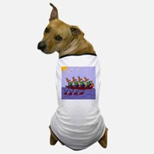 Ducks Rowing Dog T-Shirt
