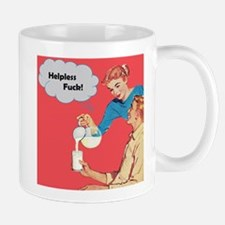 Helpless F Mug
