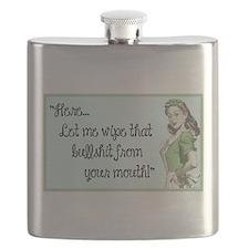 Cute Retro humor Flask