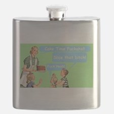 Cake Time Grn Flask
