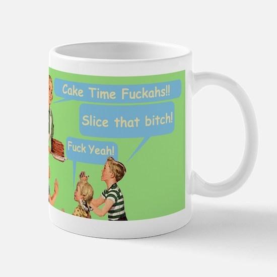 Cake Time Grn Mugs