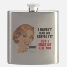 Funny 50's Flask