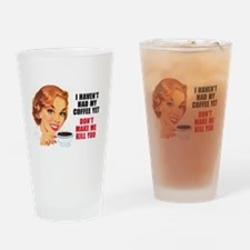 Funny 50's Drinking Glass