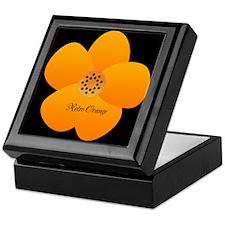 Sunny Bright Fluffy Flower Holiday Retro Keepsake