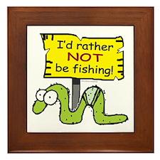 Fishing?... Framed Tile