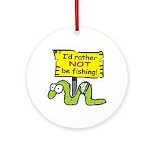 Fishing?... Ornament (Round)