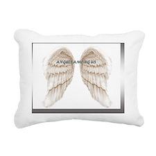 Angel logo Rectangular Canvas Pillow