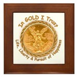Mex Gold Framed Tile
