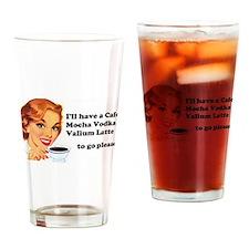 Vodka Latte ToGo Drinking Glass