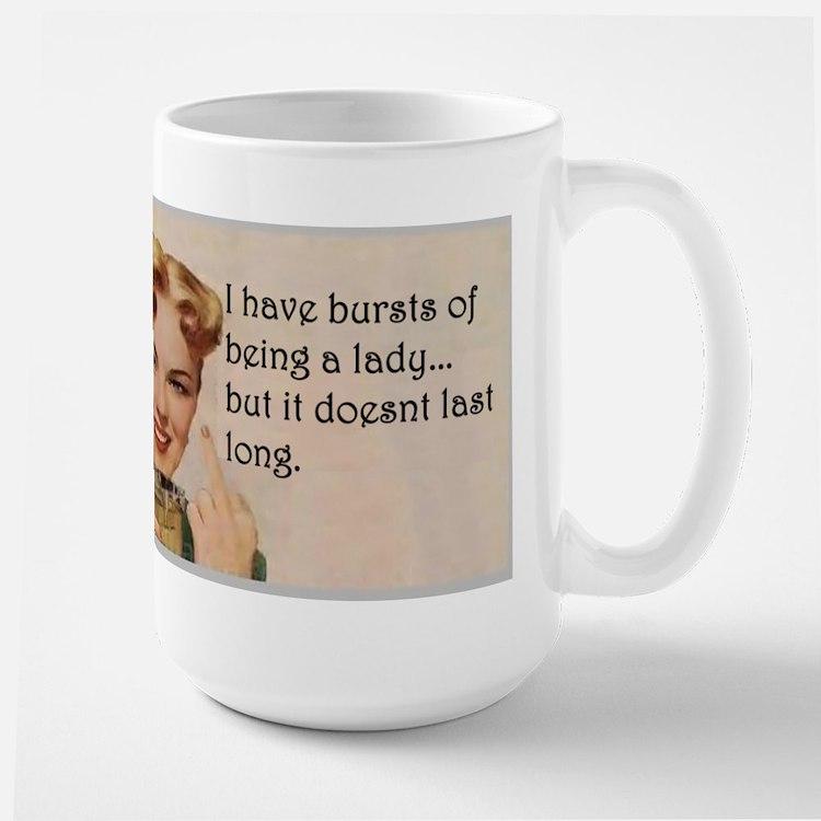 Being a Lady Mugs
