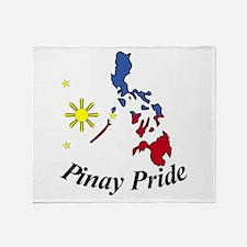 Pinay Pride Throw Blanket
