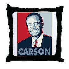 Ben Carson 2016 Throw Pillow