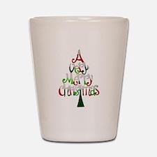 Christmas Tree Shot Glass