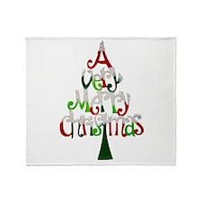 Christmas Tree Throw Blanket