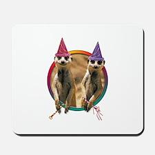 Meerkat Birthday Party Mousepad