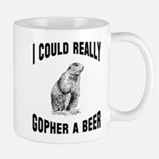 Gopher a beer Mug