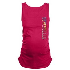 co-seychelles.png Maternity Tank Top