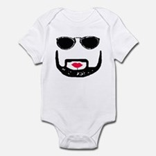 Sunglasses and a Goatee  Infant Bodysuit