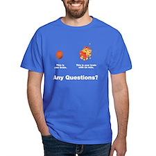Brain with six kids T-Shirt