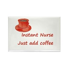 Cute Student nurse sayings Rectangle Magnet