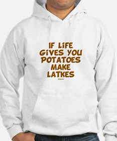 Make Latkes Chanukah Jumper Hoody